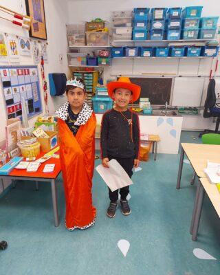 Alle kinderen vieren vandaag Koningsdag op hun eigen manier 🧡🧡🧡